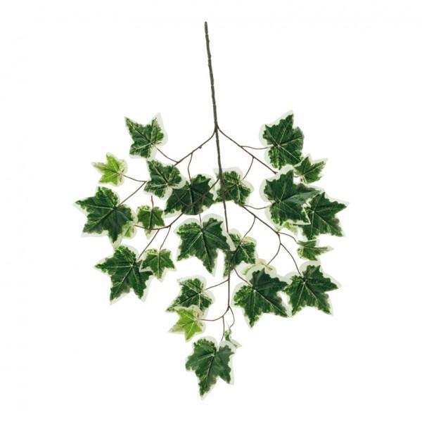 Efeuzweig, 70x40cm, mit 25 Blättern, Kunstseide