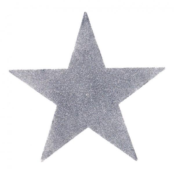 Stern, Ø 38cm, Kunststoff, mit Glitter