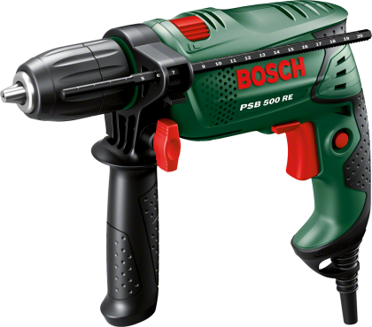 Bosch-Schlagbohrmaschine PSB 500 RE
