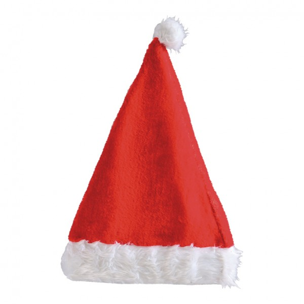 Weihnachtsmannmütze, 40cm, Plüsch