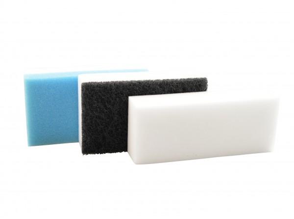 NanoConcept FleckEx Schmutzradierer 3er-Set